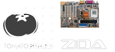 BIOSes for Zida Tomato motherboards